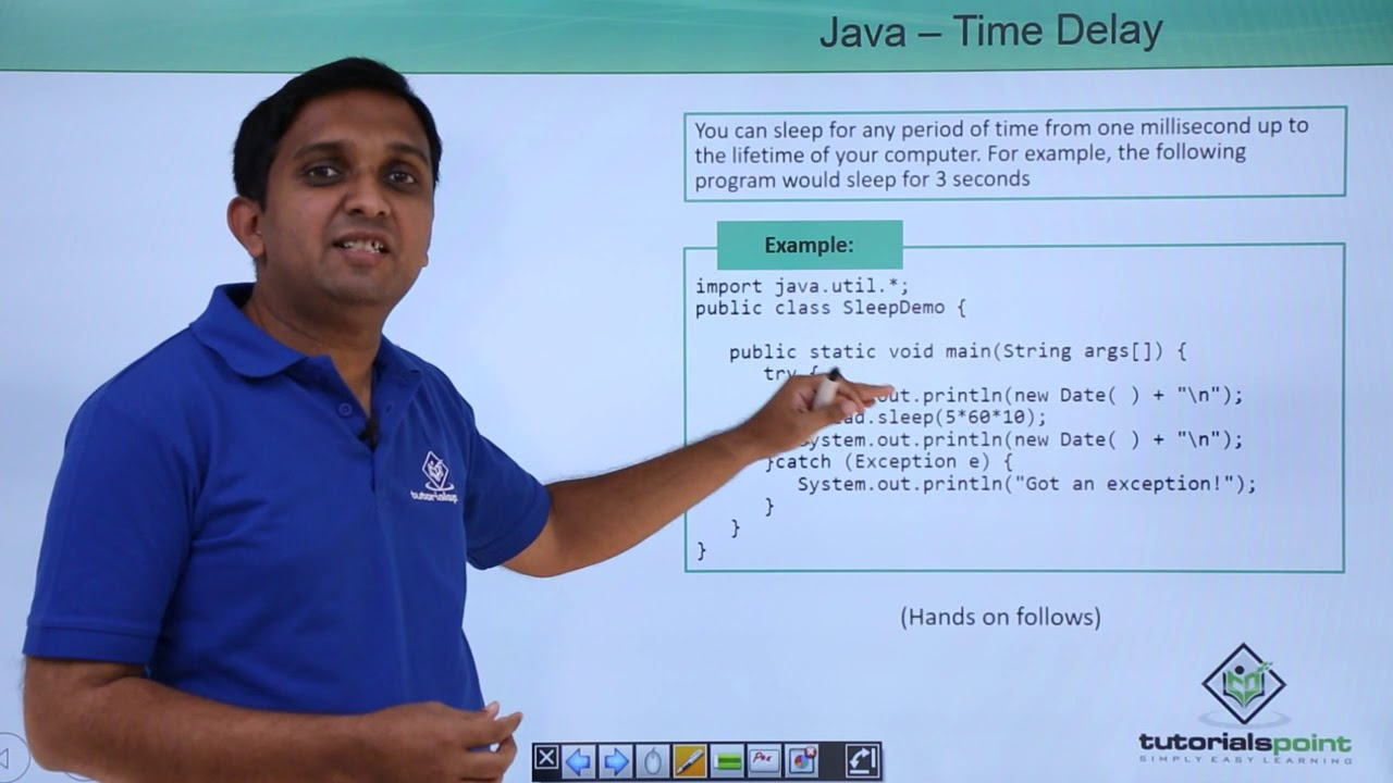 Java - Time Delay