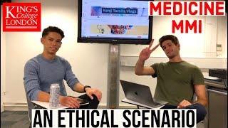 Answering an Ethical Scenario | Medicine MMI Interviews | Kenji & KharmaMedic