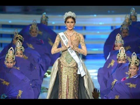 Recibimiento de Miss Universe 2013, Gabriela Isler en el Puteri Indonesia 2014