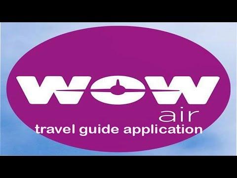 """WOW air travel guide application"""