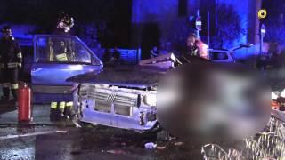 Dramma a Caravaggio   : 3 giovani di Mozzanica perdono la vita in un incidente