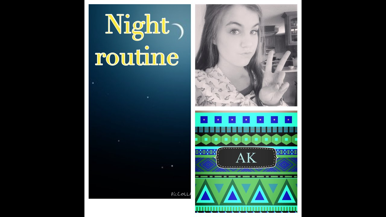 Night Routine||Annakate - YouTube