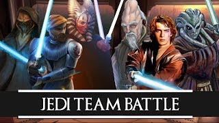 Versus Series: Plo Koon + Obi Wan Kenobi + Shaak Ti VS Ki Adi …