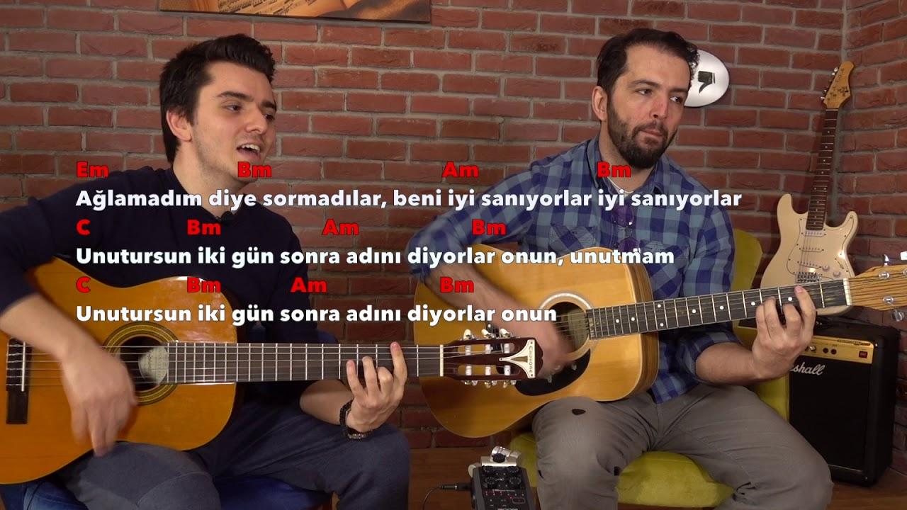 Oguzhan Koc Beni Iyi Saniyorlar Nasil Calinir Orjinal Akor Gitar Dersi Youtube