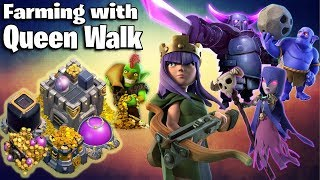 Town Hall 12 Farming With Queen Walk PeBoWi Attack Strategy 2018  Clash Of Clans
