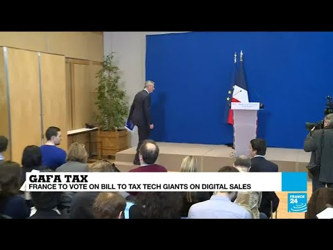 France to target online tech giants with digital tax