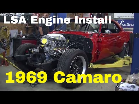"Supercharged LSA Engine Install 1969 Camaro ""Lou's Change"" Video V8TV"