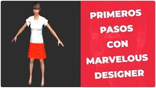 Primeros pasos con Marvelous Designer, programa para crear ropa virtual