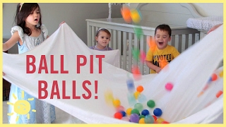 PLAY | 3 Ball Pit Ball Activities!