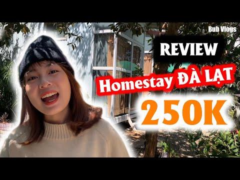Bub vlogs REVIEW Homestay Đà Lạt 250k Siêu rẻ - Siêu dễ thương | Đà Lạt trip 1