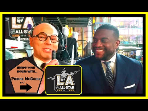 Inside Your House with Pierre McGuire: NHL ALL-STAR SHOW** with KEVIN WEEKES (video, 2017)