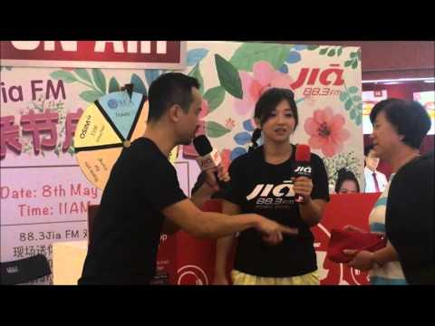 Radio 88.3FM Live Show Clementi Mall what was Singapore's Lowest recorded temperature