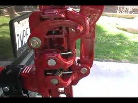 hi-lift jack maintenance and lubrication