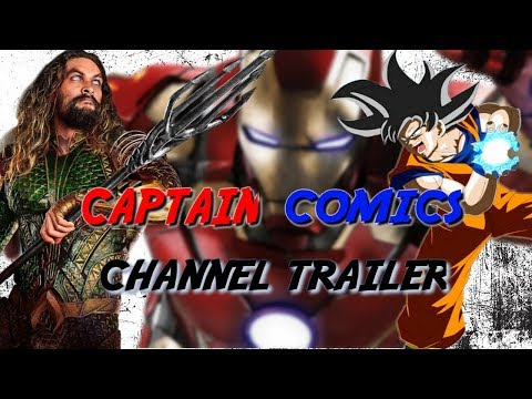 CAPTAIN COMICS! - CHANNEL TRAILER (COMIC CON 2018)