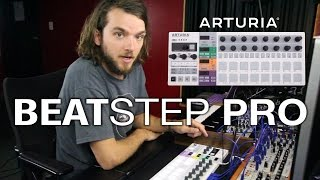 Arturia BeatStep Pro Review - Using CV & MIDI Controller LIVE with Analog Modular Synth