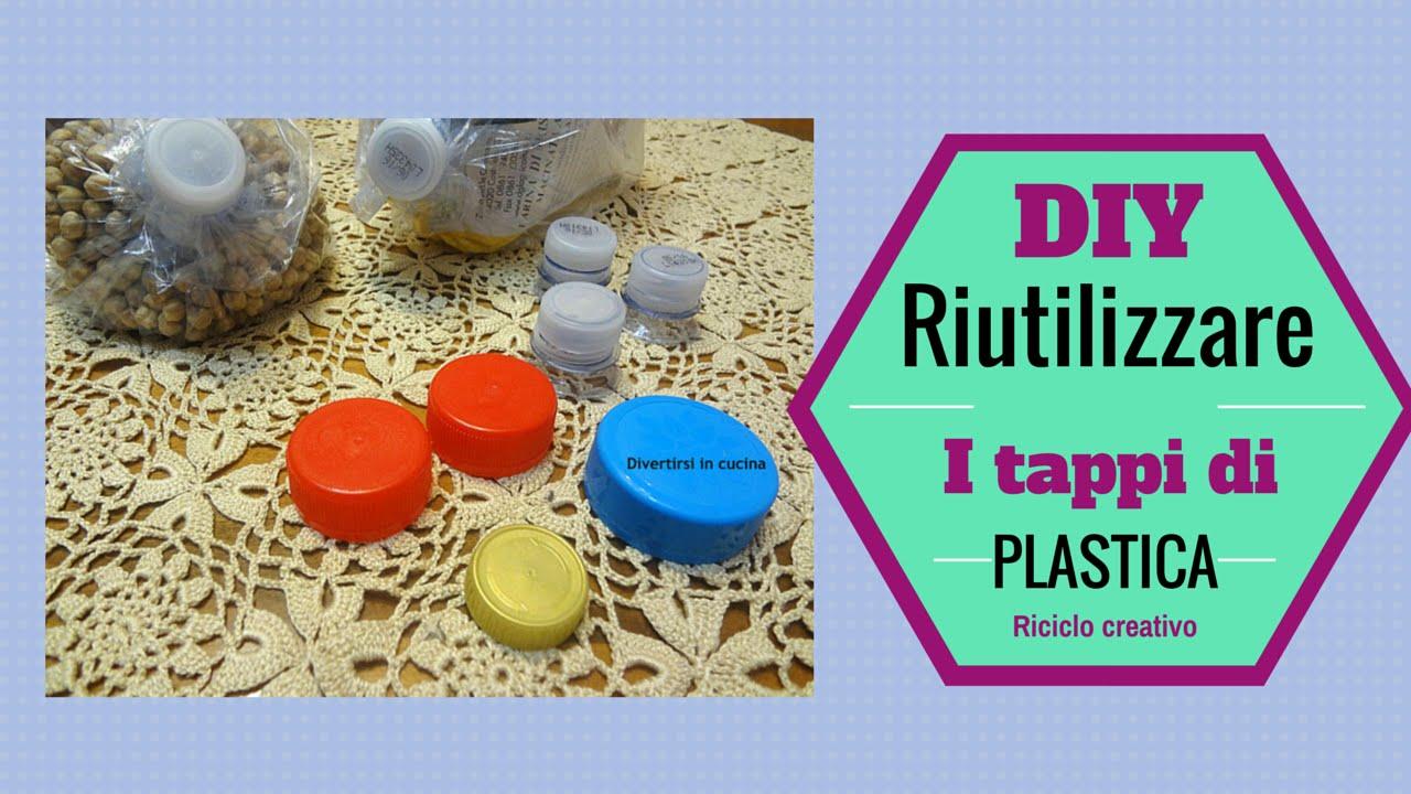 Ben noto Riciclo creativo: come riutilizzare i TAPPI DI PLASTICA  HX42