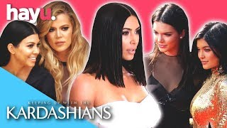 Best Red Carpet & Cat Walk Moments | Keeping Up With The Kardashians
