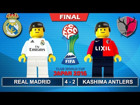 FIFA Club World Cup Japan Final 2016 • REAL MADRID vs KASHIMA ANTLERS 4-2 • Lego Football Highlights