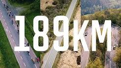 Rannrad-Tour mit 189 km | drei Länder: Niederlande, Belgien, Deutschland | Tag der (Bein)-Arbeit