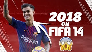 FIFA 14 PREDICTS THE YEAR 2018!!! | COUTINHO TO BARCELONA?!