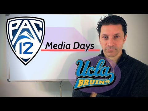 Pac-12 Media Day with Mark Rogers
