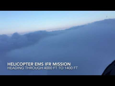 Helicopter EMS IFR Mission