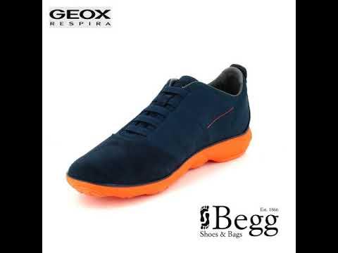 Geox Nebula F U62D7F-C0820 Navy Orange