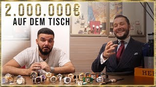2 Millionen Euro auf dem Tisch