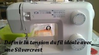 Couture - Définir la tension idéale du fil avec une Machine à coudre Silvercrest