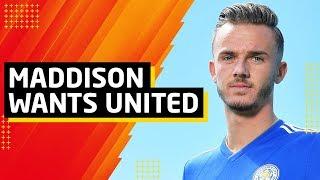 James Maddison To United? | Max Aarons Interest | Man Utd Transfer News