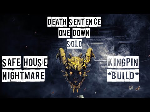Payday 2 Safe House Nightmare DSOD Solo Loud (No AI, Downs, Sentry Glitch) Specialized Build |