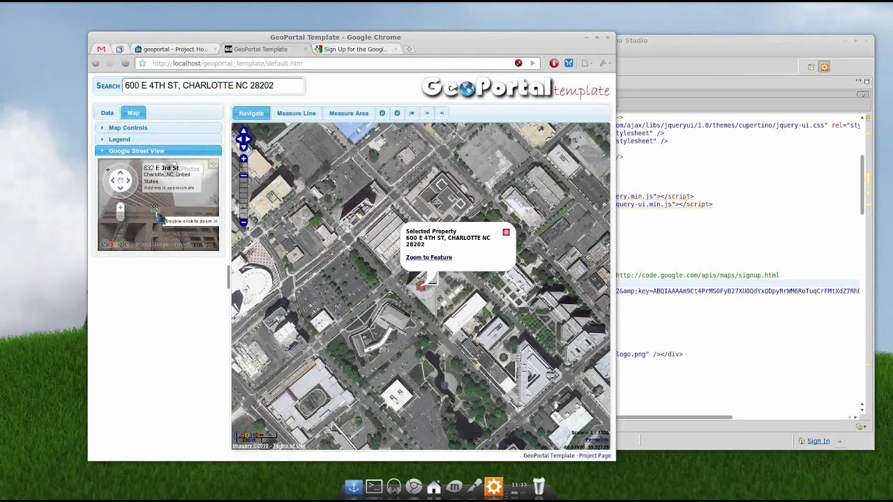 GeoPortal Template - Adding Google Maps - YouTube