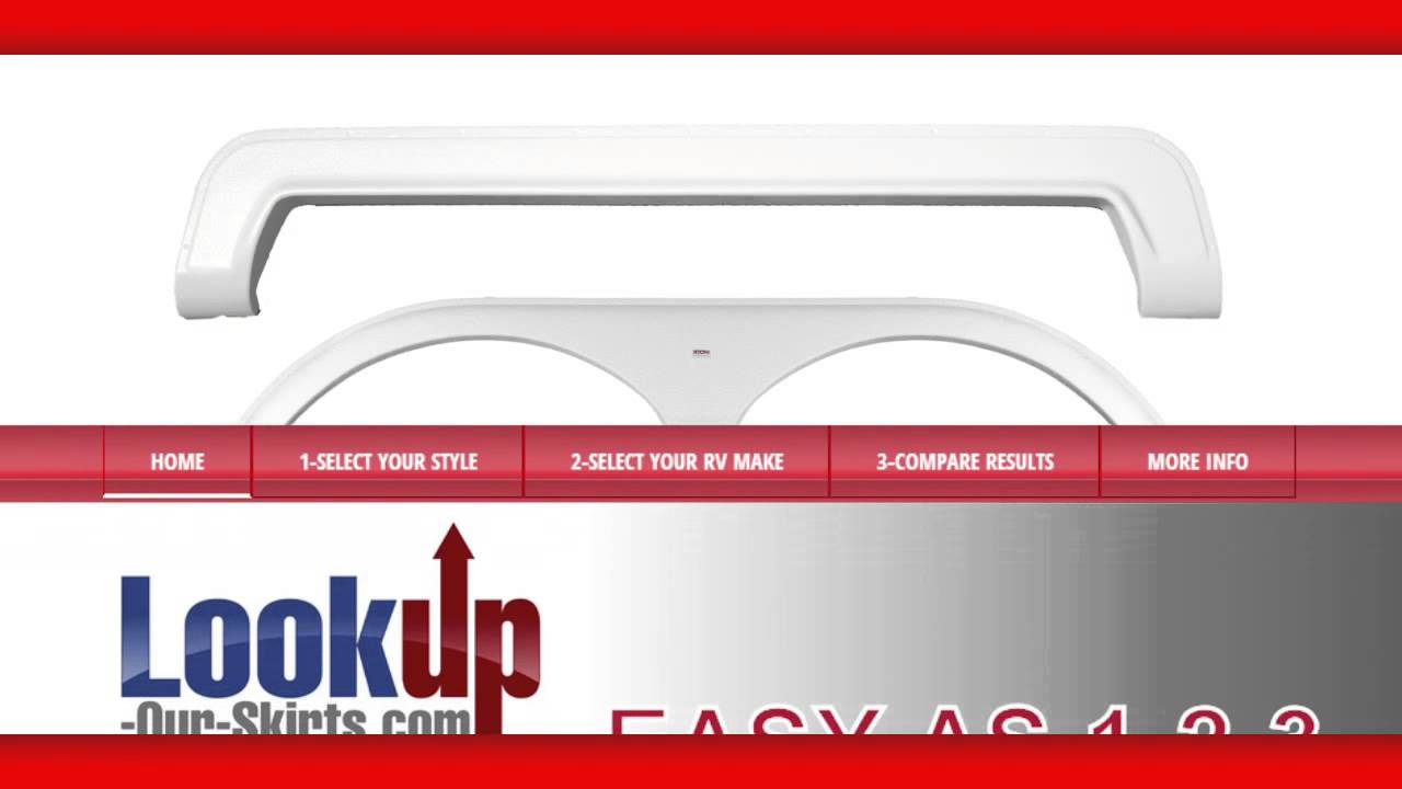 RV Fender Skirts - Lookup-Our-Skirts com