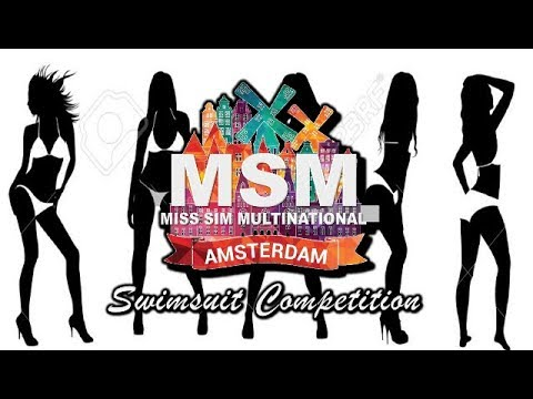 Miss Sims Multinational 2017 SWIMSUIT COMPETITION
