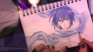 Speed drawing Kaito!