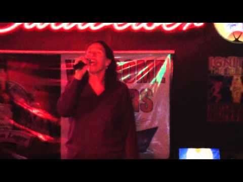 "Sheena Easton - Morning Train - Karaoke cover by ""blueprint blue"" Peg"