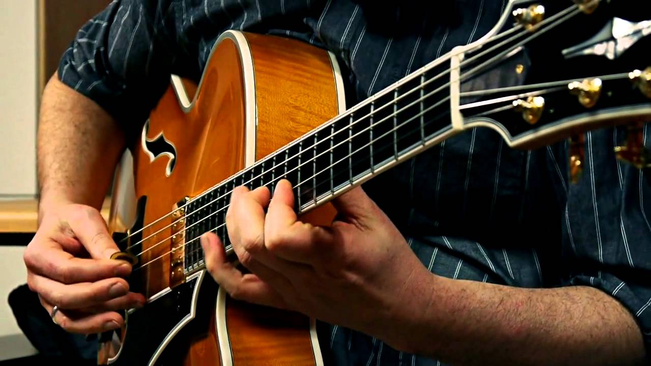 Sonntag J17X Archtop Jazz Guitar - 'Afternoon in Paris' Changes  - Played by Andreas Schulz