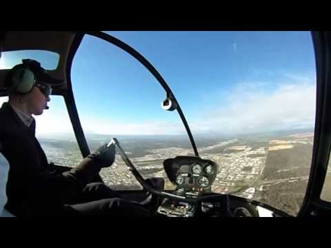 360 Video From Helicopter Flight Over Perth
