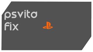 PSVITA | Home Button Flashing Orange FIX!!!