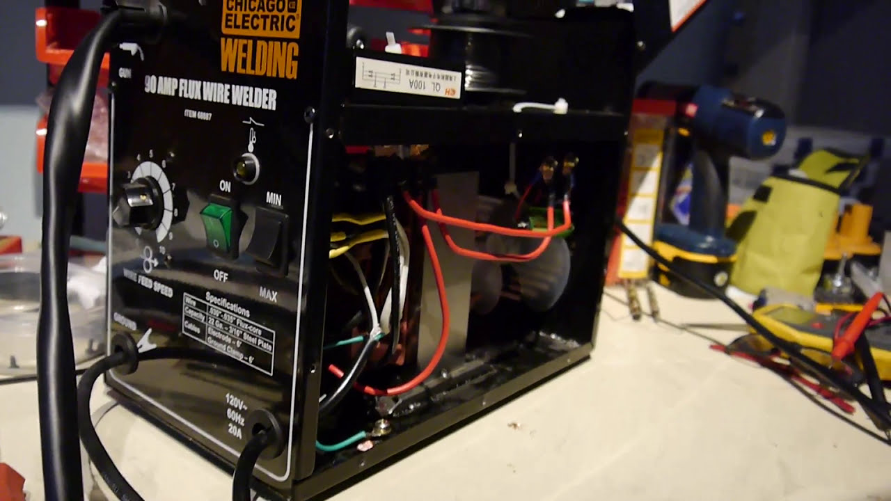 Failed - 90 Amp Flux Core Welder Ac To Dc Conversion - Small