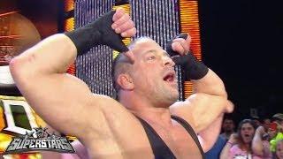 Rob Van Dam vs. Curt Hawkins: WWE Superstars, Oct. 4, 2013