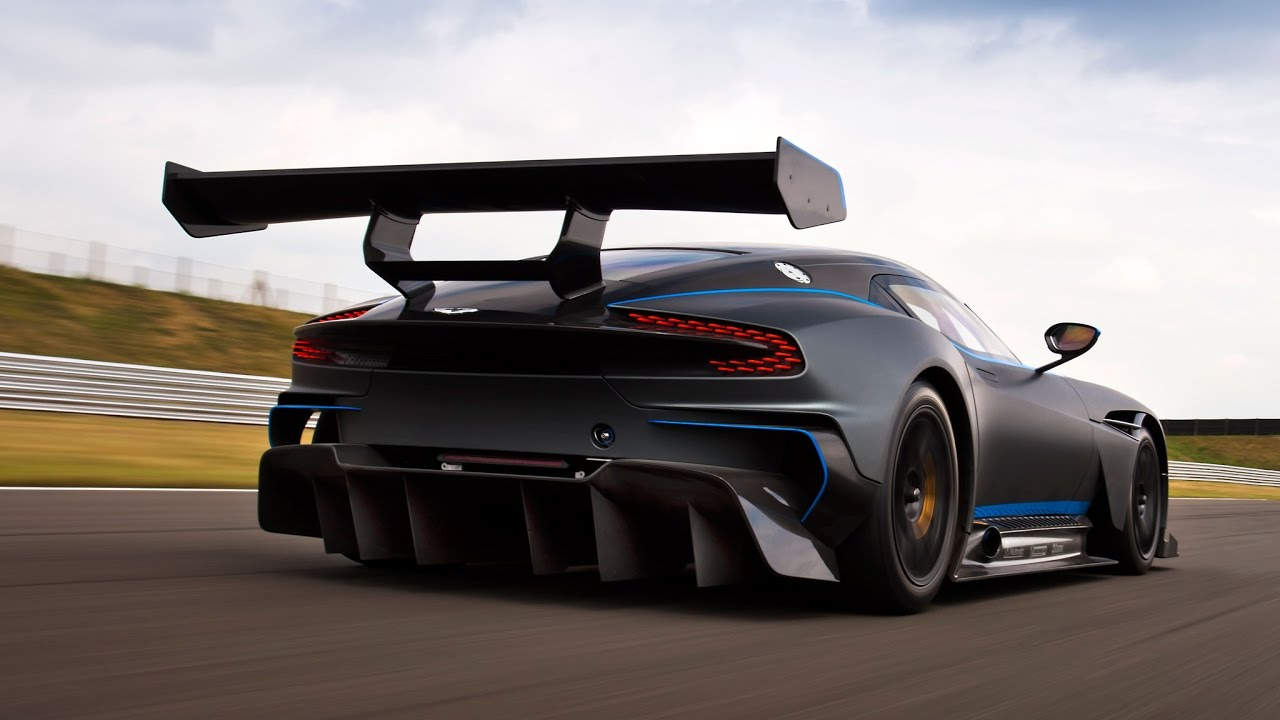 Aston Martin Vulcan Top Speed And Speed Run Graphical Youtube