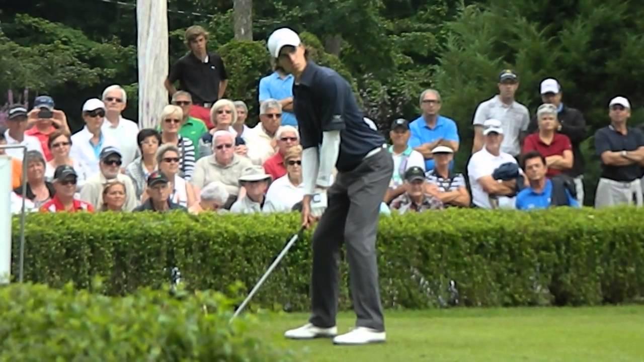 Jean-Michel Paré du Club de golf Victoriaville à la Coupe Canada Sani Marc  - YouTube