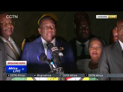 Zimbabwe's Emmerson Mnangagwa to be sworn in as president on Friday