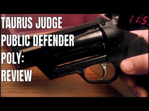 Taurus Judge Public Defender Polymer: Review