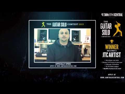 *OFFICIALLY OPEN!* JTC Guitar Solo Contest 2015! | JTCGuitar.com