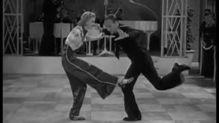 "Fred Astaire & Ginger Rogers ""Конкурс танцев"" - фильм ""Следуя за флотом"