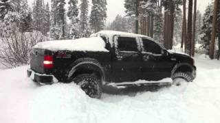 F150 in the Snow