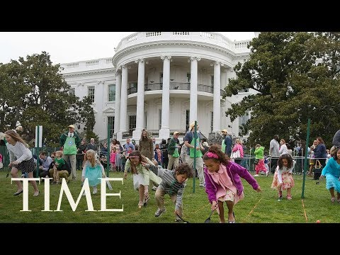 President Trump, First Lady Melania Participates In The Annual Easter Egg Roll At White House | TIME