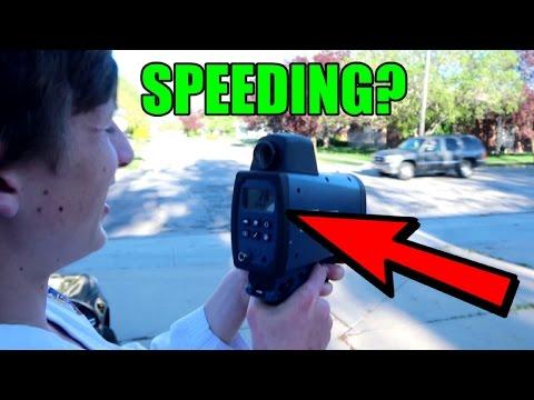TEENAGE COP? (Speed Enforcement Episode)